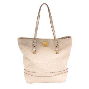 Louis Vuitton White Empreinte Leather Citadine Bag